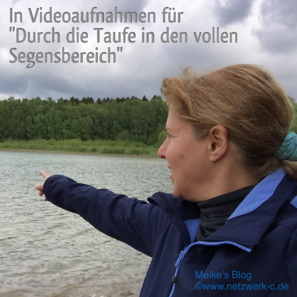 Videoarbeit Taufe